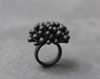 Snow Berries Customizable Ring