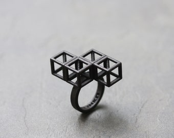 LIGHTNING Puzzle Ring