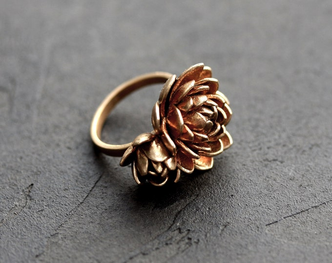 Featured listing image: Lotus Flower Ring