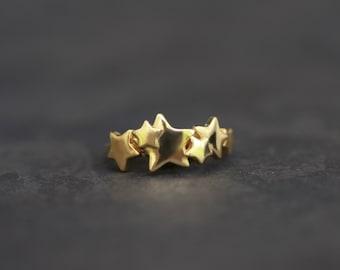 Celestial Gold Ring