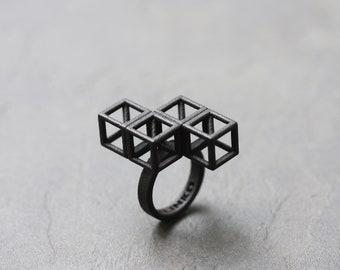 LIGHTNING Puzzle Ring