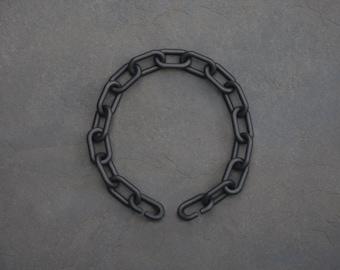 3D Printed Nylon Chunky Chain 20 links Choker