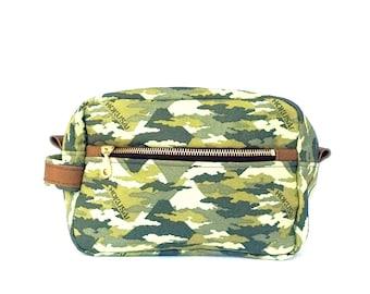Men Shaving Kit, Toiletry Case, Camo Dopp Kit Travel Gift for Men, Groomsmen Gift, Travel Kit, Grooming Kit, Boyfriend Gift For Him Wash Bag