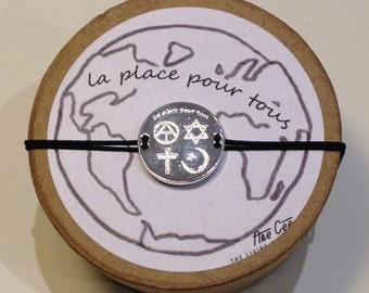 Room for all the bracelet that has a sense of peace on our planet Earth positive bracelet bracelet