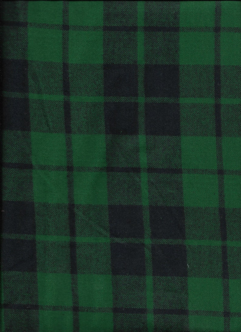 New Green Camouflage 100/% Cotton Flannel Fabric by the half yard camo