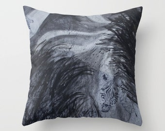 Zebra Journey Pillow