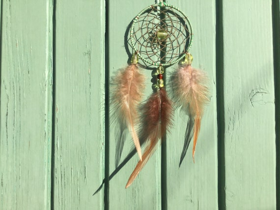 Dream Catcher To Hang On Your Car Mirror Etsy Fascinating Dream Catcher To Hang In Car