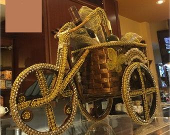 Christmas Handmade carriage basket