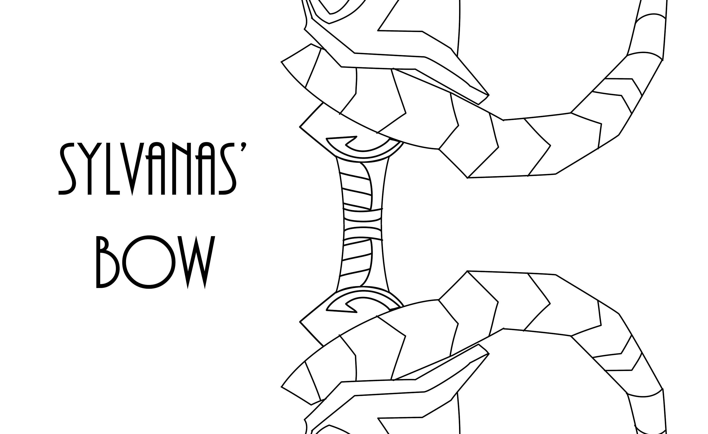 Arco Digital patrón Sylvanas | Etsy