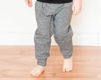 Grey Joggers - Baby Toddler Jogging Pants