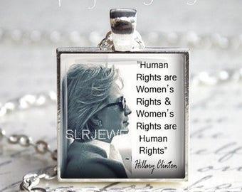 Hillary Clinton, Hillary Clinton Jewelry, Feminist Jewelry, Hillary, Democrat, Politics, Famous Women, Politcal, Still with Her,