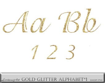 Gold cursive font etsy gold font gold glitter letter gold glitter font glitter gold cursive font glitter alphabet clipart gold letters clipart glitter numbers png thecheapjerseys Images