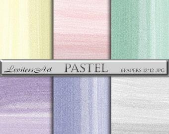 Stroke Digital Paper Pastel Digital Papers Color Background Pastel Background Printable Stroke Pastel Background Pink Green Grey Blue Yellow