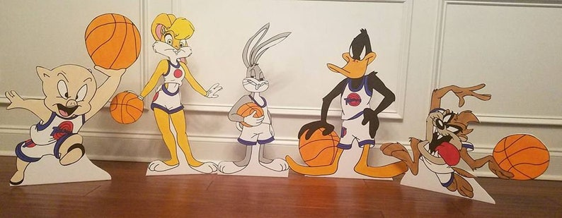 ONE 2ft Looney Tunes/Space Jam cutout, prop, standee