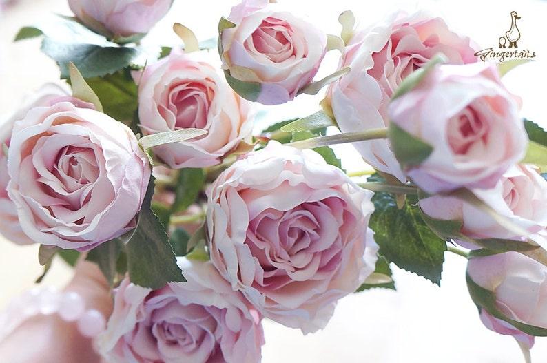 Pre-Order  Vintage Style Blush Pink Rose FB0043-01  image 0