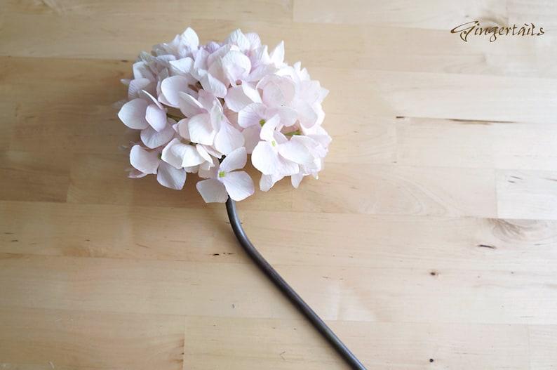 Vintage Style Pastel Pink Hydrangea FB0046-01 artificial flower \u2013 wedding aisle runner \u2013 bouquet \u2013 table runner \u2013 home decor \u2013 wreath