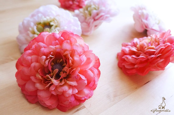 Clearance was 6 coral peony flower head fb0035 01 h etsy image 0 mightylinksfo