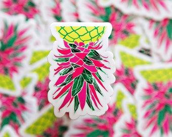 Radioactive Pineapple Sticker