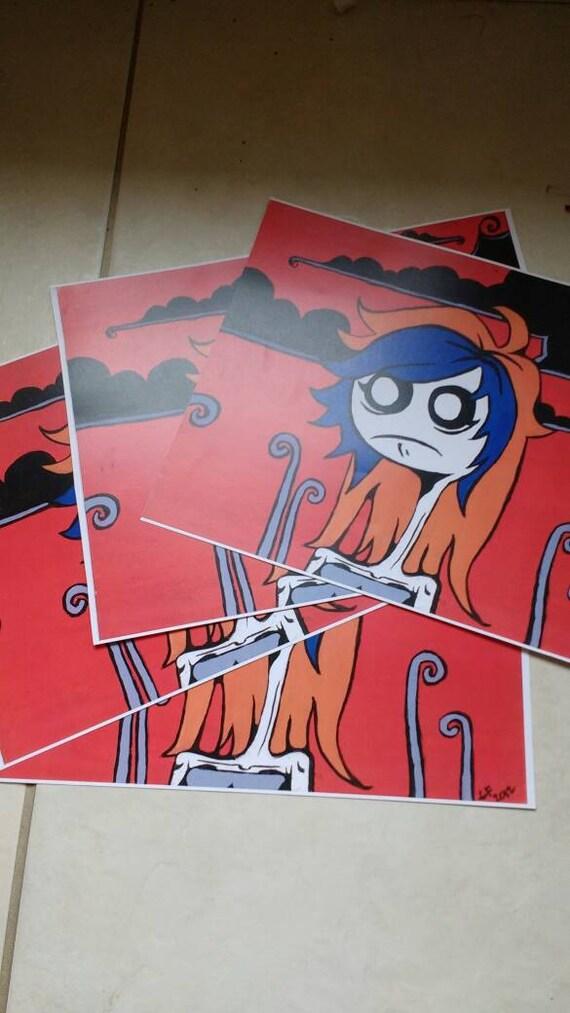 "Original Character Art Prints ""Farris"""