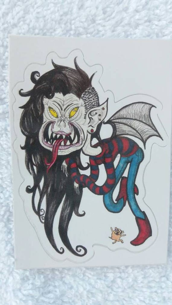 Sticker- Marceline the Vampire Queen waterproof high quality vinyl mini adhesive fan art print
