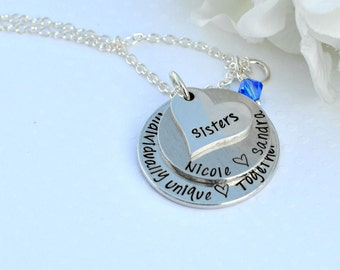 Christmas Gifts For Sister Top Selling Items Big Gift Jewelry Birthday Matching Necklaces Step