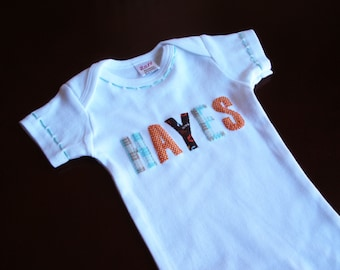 Personalized Baby, Baby Shower, Personalized Gift, Coming Home Outfit, Baby Girl Clothes, Baby Boy Clothes, Gender Neutral Baby, Baby Gift