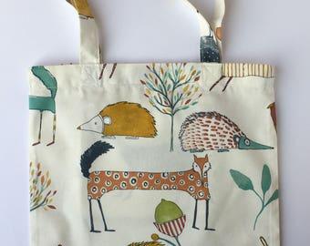 Cotton Shopper, book bag, shopping bag, eco-friendly cotton bag, eco-friendly bag