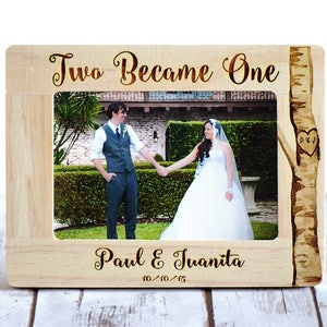 Personalized Frame Engagement Gift Wedding Gift Anniversary Gift or Housewarming Gift