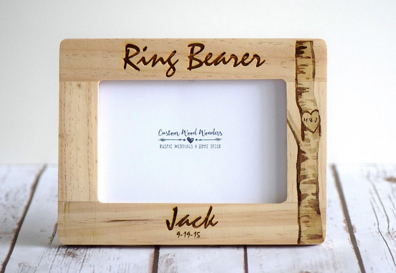 Ring Bearer Frame Ring Bearer Gift Ring Bearer Thank you | Etsy