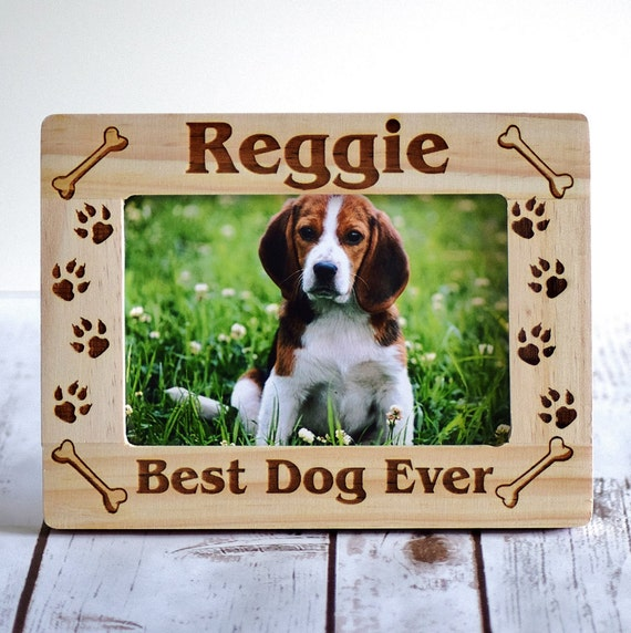 Pet Frame Dog Frame Pet Lovers Custom Dog Frame Wood Etsy