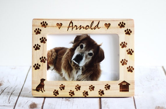 Personalized Dog Frames Dog Frame Pet Frame Gift Pet Lover Etsy