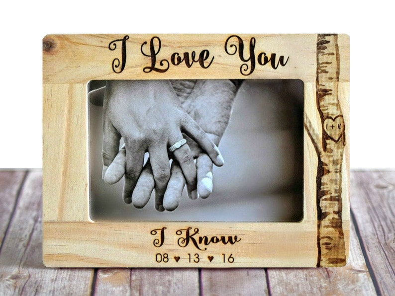 Star Wars I Love You/I Know Picture Frame  image 0