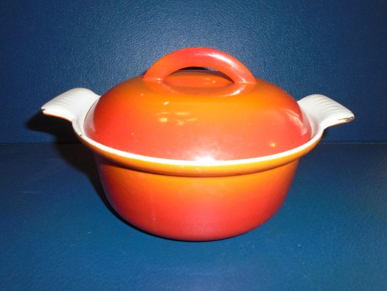 vintage descoware  Enameled Pot  cooking pot  Pot