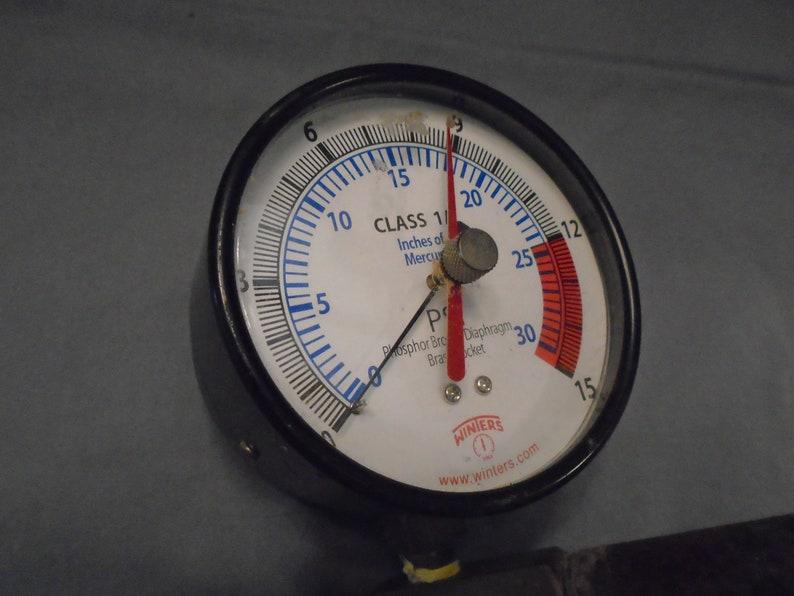 Steampunk lamp supply Steampunk Supply Steampunk Vacuum Gauge