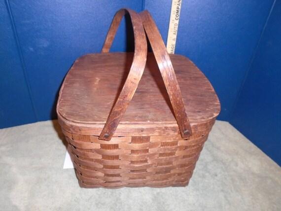 Old Basket Vintage Basket  Antique Basket   Basket