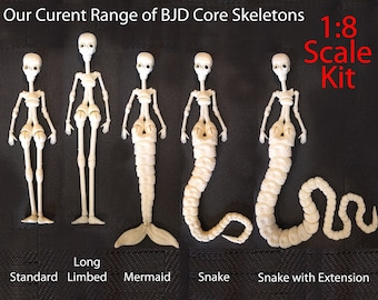 NEW! 1/8 3D Printed Core Form to make a BJD