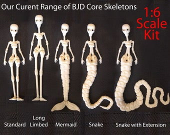 NEW! 1/6 3D Printed Core Form to make a BJD