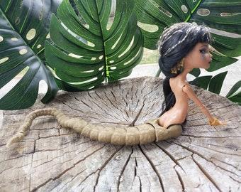 3D printed Monster High Snake Tail