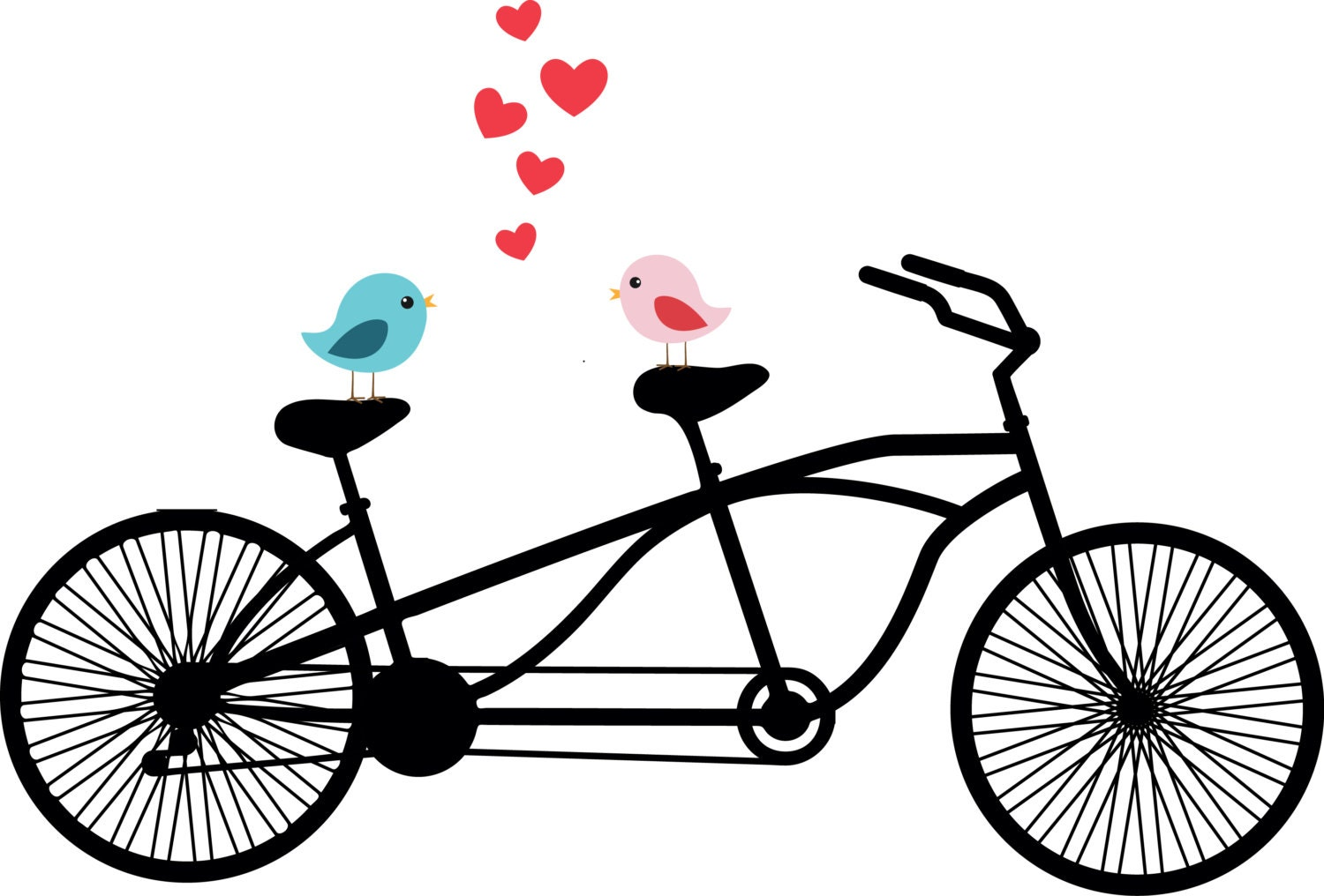 tandem bike clip art wedding real clipart and vector graphics u2022 rh realclipart today tandem bicycle clipart free