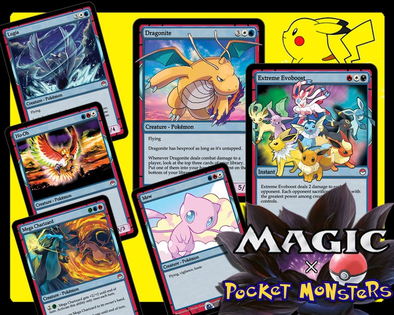 Pokemon Sword And Shield Magic Trading Cards Complete Etsy