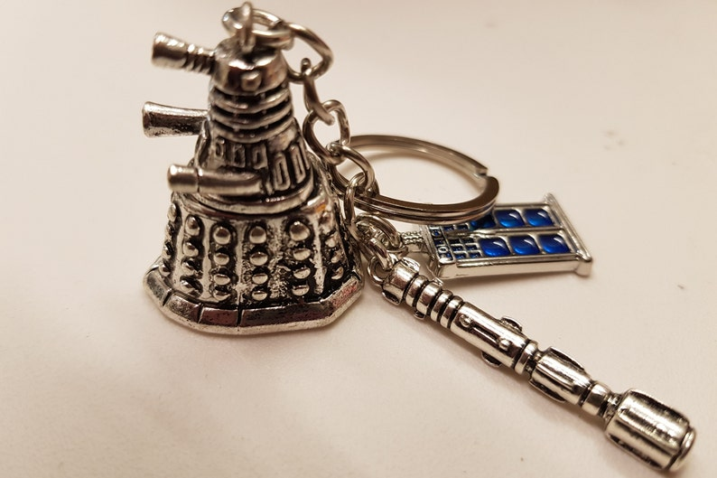Doctor Who Inspired Bag Charm  Keyring