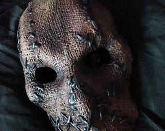Scarecrow hard resin mask