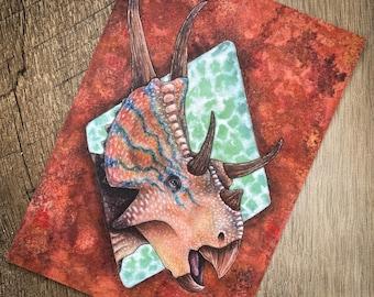 Diabloceratops Reconstruction Print