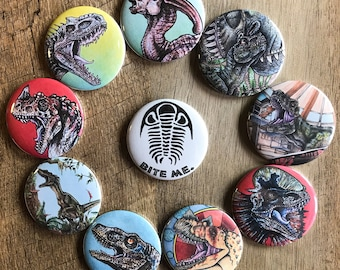 Jurassic Park / Dinosaur Assorted Bottle Openers and Mirrors