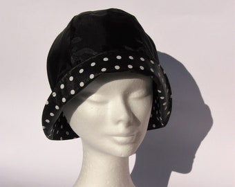 5fd96f6873f womens rain hat black