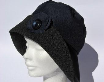 9c33c348c4afc womens rain hat navy blue