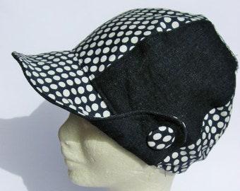 women newsboy beret, fabric denim jeans cap, ladies casual style cap, gatsby jeans cap