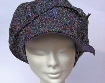 ladies newsboy hat, women bakeroy cap, vintage inspired ladies hat, bakerboy hat, ladies newsboy beret