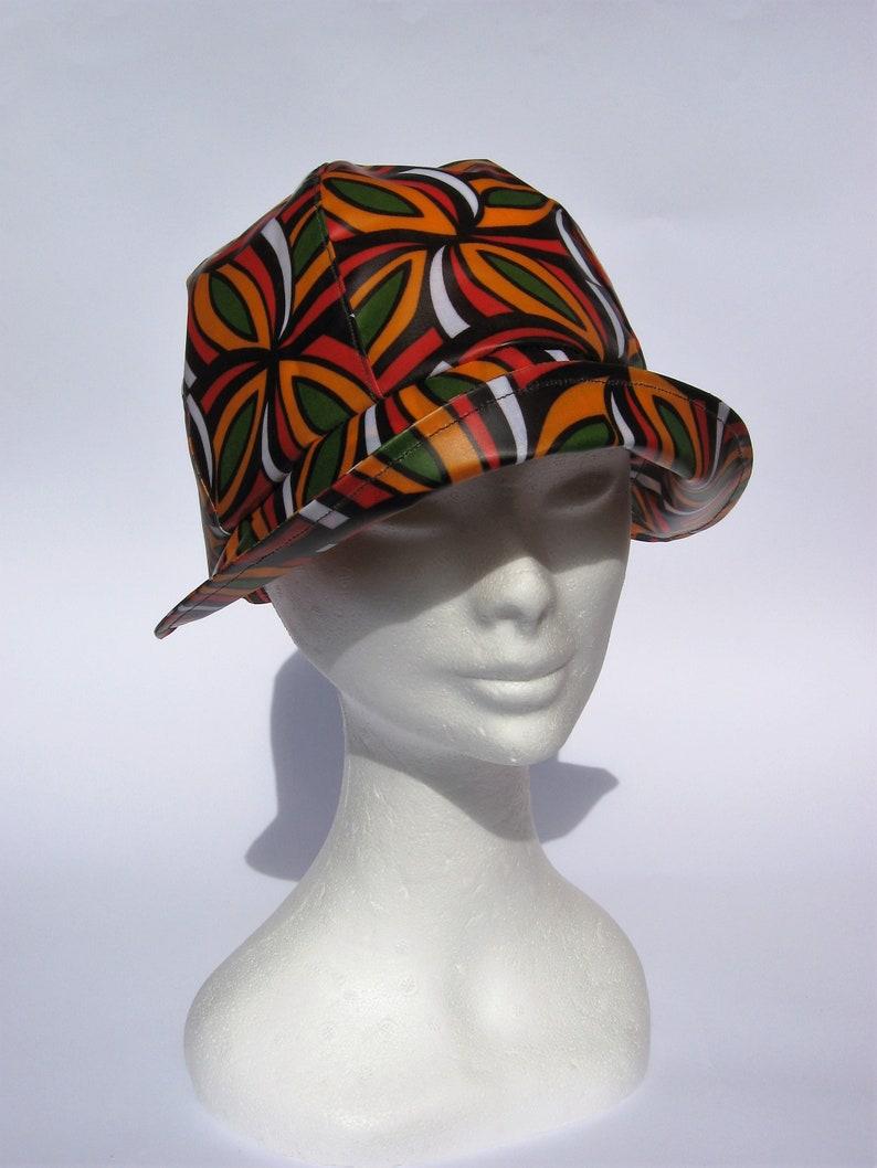 Cappello donna impermeabile cappello cerato da pioggia ...