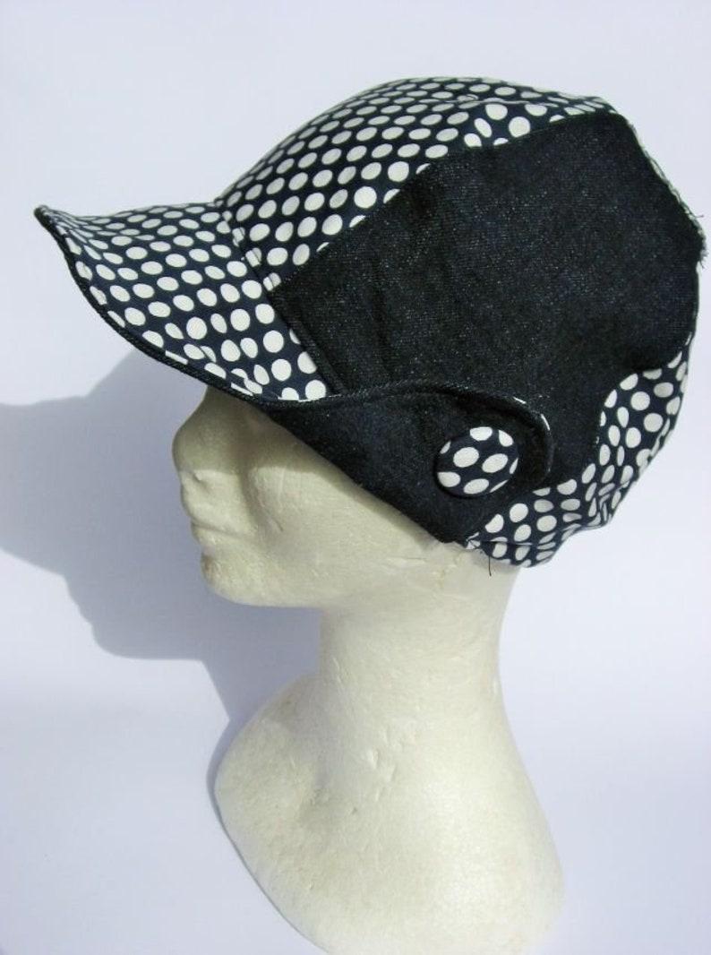 Cappello visiera denim blu jeans berretto donna ragazza   Etsy